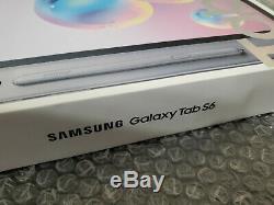 Marque Nouveau Dans La Boîte Samsung Galaxy Tab S6 Débloqué 10,5 128go Gris Verizon + S Pen