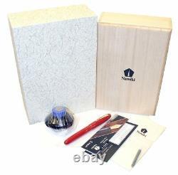Mint Namiki Yukari Royale Vermilion Urushi Fountain Pen New Old Stock In Box