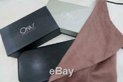 Monnaie Et Boxed Omas S2001 Ogiva Fountain Pen & Bille En Argent Sterling Guilloché
