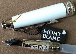 Monnaie Montblanc Meisterstück Hommage Au Mont Blanc # 145 Fountain Pen, Box