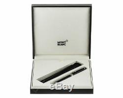 Montblanc 112513 Meisterstuck Classique Bp 2866 Set Pen & Pouch Neuf Dans L'emballage