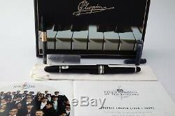Montblanc # 145 Chopin With14k Nib Special Edition Platinum Ligne Nouveau Dans La Boîte