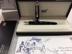 Montblanc 2017 Mst Unicef Legrand 146 Stylo Plume (ef) Nib Nouveau Dans La Boîte