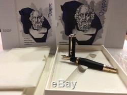Montblanc 2018 Writers Edition Homer Stylo Plume (n) Plume # 117876 Neuf Dans La Boîte