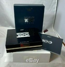 Montblanc Boheme 100 Anni 18k Or Massif Diamant Fountain Pen 100 Made Boxed
