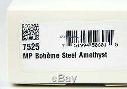 Montblanc Boheme Platine Plaqué Acier Amethyst Portemine 0,9mm 7525 Box