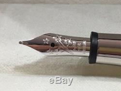 Montblanc Bonheur Week-end Fountain Pen (f) Nib # 118500 Neuf Dans La Boîte