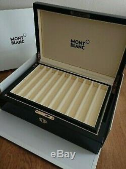 Montblanc Bureau Box Pour Collectionneurs Accesoires 20 Stylos Nouveau + Box