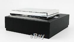 Montblanc Bureau Mirrored Mémo En Acier Inoxydable Pad Box New Box 7794 Allemagne