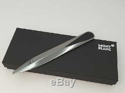 Montblanc Bureau Ouvre La Lettre N ° Accesoires 124025 Nouveau + Box