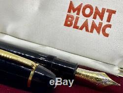 Montblanc De 1960 Immaculée Masterpiece N ° 149 -plastic Piston-ef 18c Nib-box
