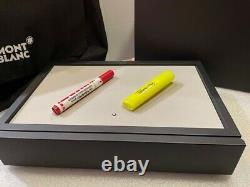 Montblanc Desk Accessories Leather Stackable Pen Box For 8 Pens #124027 Nouveau