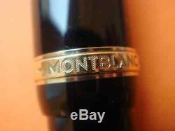 Montblanc Édition Limitée Agatha Christie Stylo Plume F Pt Nouveau Dans La Boîte 2341/4810
