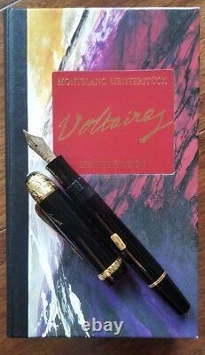 Montblanc Édition Limitée Voltaire Fountain Nouveau Dans La Boîte Avec Tous Les Supports De Paperasserie