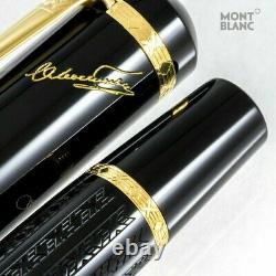 Montblanc Fountain Pen Limited Edition Dostoevsky Nouveau Inutilisé Sans Encre Aucune Boîte