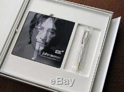 Montblanc Grands Caractères Limité Edt. 1940 John Lennon Fountain Pen Nouveau + Box