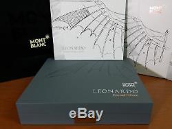 Montblanc Great Characters Ltd. Edt. Rollerball Leonardo Da Vinci 2014 Nouveau + Box