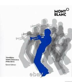 Montblanc Great Characters Miles Davis Fountain Pen 114344 Nouvelle Boîte Originale