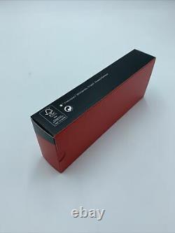 Montblanc Heritage Rouge Et Noir Fountain Pen Noir 114722 M Nouveau+box