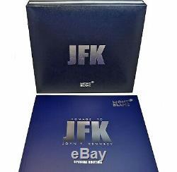 Montblanc Jfk Special Edition John F Kennedy Rollerball Pen Neuf Dans La Boîte 118082
