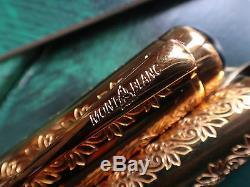 Montblanc Limited Edition Louis XIV Fontaine Neuf Dans La Boîte Jamais Encré 4792/4810