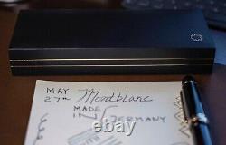 Montblanc Meisterstuck Diplomat 149 Stylo De Fontaine 18k Nib Mint W Box