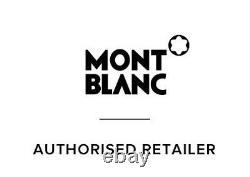 Montblanc Meisterstuck Legrand Stall Point Noir & Gold Nouveau In Box 161