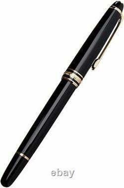 Montblanc Meisterstuck Or Trim Classique 163 Rollerball Pen. Nouveau Dans La Boîte. Vente