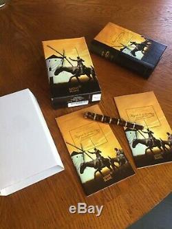 Montblanc Miguel De Cervantes Édition Écrivains Fontaine Nib M New Boite Et Papiers