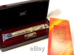 Montblanc Patron De L'art Édition 1996 Semiramis 4810 Fountain Pen Nouveau + Box