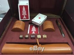 Montblanc Purdey & Backgammon Pont Coffret Jeu Set # 124032 Neuf Dans La Boîte