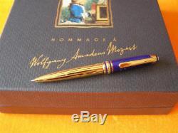 Montblanc Ramsès II Mozart Lapis Stylo À Bille Neuf Dans La Boîte Petit Stylo 4 1/2 Pouces