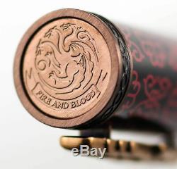 Montegrappa Game Of Thrones Targaryen Rollerball Pen, Isgotrty, Neuf Dans La Boîte