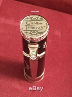 Montegrappa Game Of Thrones Westeros Rollerball Pen, Isgotrwe, Neuf Dans La Boîte