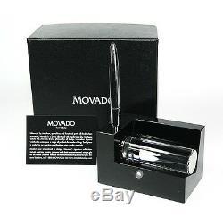 Movado Musée Porte-cartes Avec Un Stylo En Métal Dbk000212m 150,00 $ Nouvelle Boîte