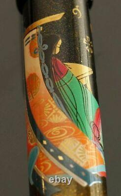 Namiki Empereur N°50 Murasaki Shikibu Fountain Pen Box And Papers