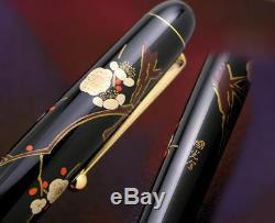 Namiki Pilot Nippon Art Plum Blossom Fountain Pen Neuf Dans La Boîte