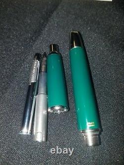 Namiki Pilot Vanishing Point Pen Avec Moyen 14k 585 Nib Avec Boîte Et Recharges