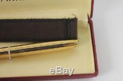 Nos Parker 75 Présidentielle Fountain Pen 14k Or Massif Boxed 14k Med Nib