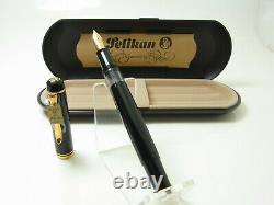 Nos Vintage Pelikan M250 Old Style Version Stylo Plume 14ct M Plume Dans La Boîte