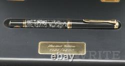 Nouveau! Fontaine Pen Pelikan Lim. C'est Moi Qui L'ai Fait. Wall Street 1935/4500 Nib F Boîte Complète