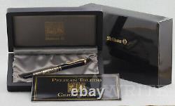 Nouveau! Fountain Pen Pelikan Toledo M 700 Nib Ef Complete Box