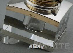 Nouveau Montblanc Meisterstück Solitaire Accessoires De Bureau En Argent Sterling Boxed