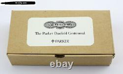 Nouveau Parker Duofold Centennial Ecritoire Bois Pen Plateau / Boîte / Pour 2 Stylos
