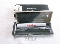 Nouveau Rotring 600 Newton Lava Metal Ballpoint Pen / New In Box (47769)