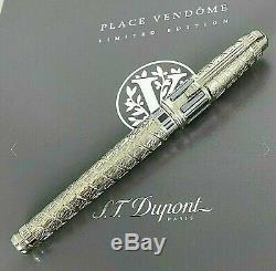 Nouveau St Dupont Vendome Limited Edition XL Fountain Pen Détail Limitée Ed Box