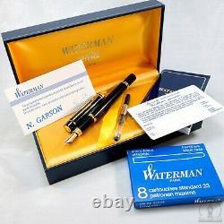 Nouveauté En Boîte Waterman Man 200 Fontaine Pen 100 Jahre Allianz Edition Limitée