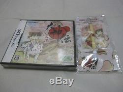 Nouveaux 7-14 Jours Aux Etats-unis. E-capcom Limitée Box Withpen. Nintendo Ds Okami Den Japonais