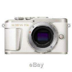 Olympus Pen E-pl9 16,1 Mp Appareil Photo Mirrorless Corps, White Pearl Open Box