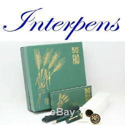 Omas Paragon Fao 50e Anniversaire Limited Edition Fountain Pen 18c M Nib Box